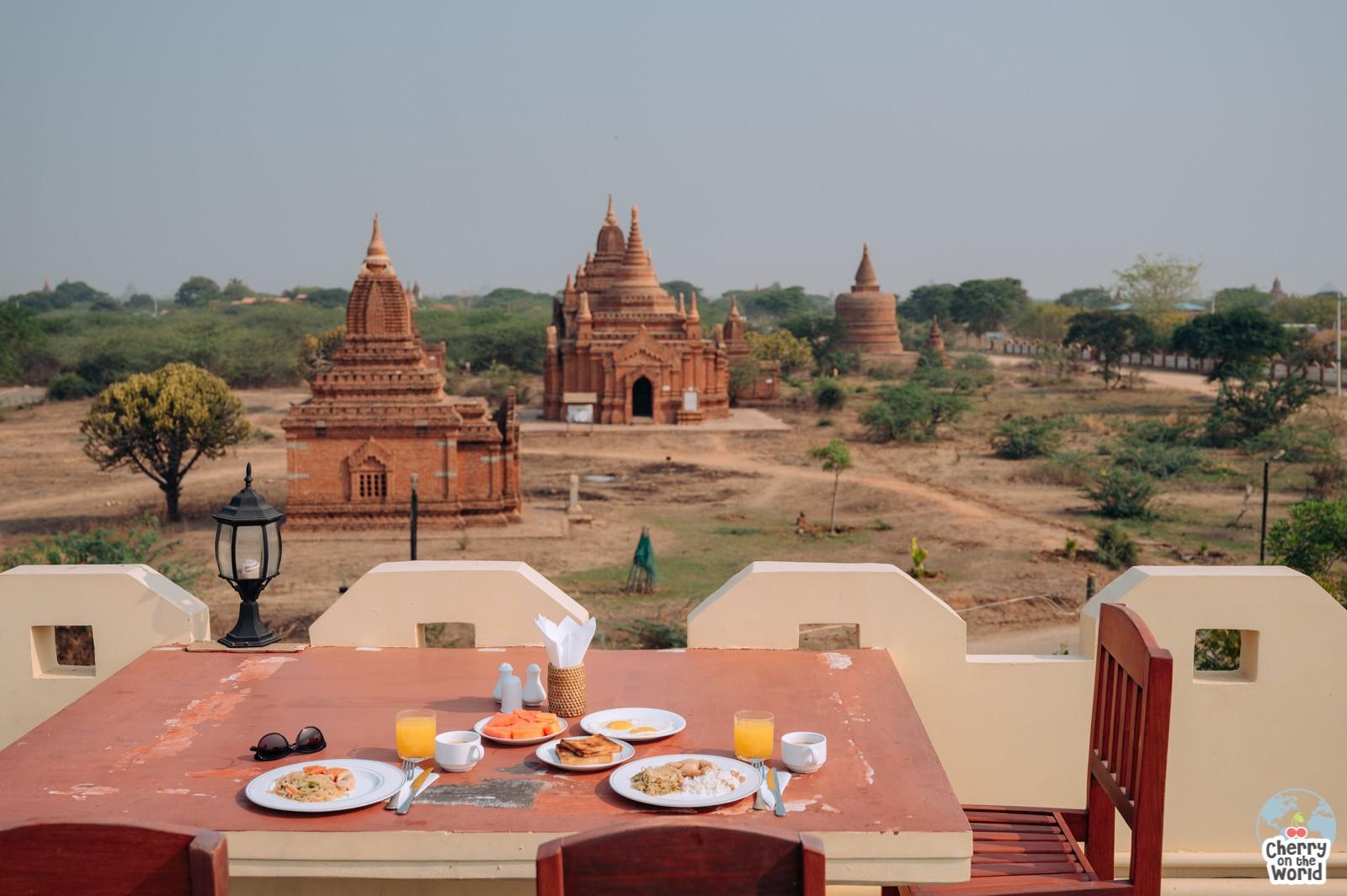 Bagan Temple View